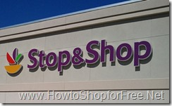 Stop & Shop  logo howtoshopforfree.net