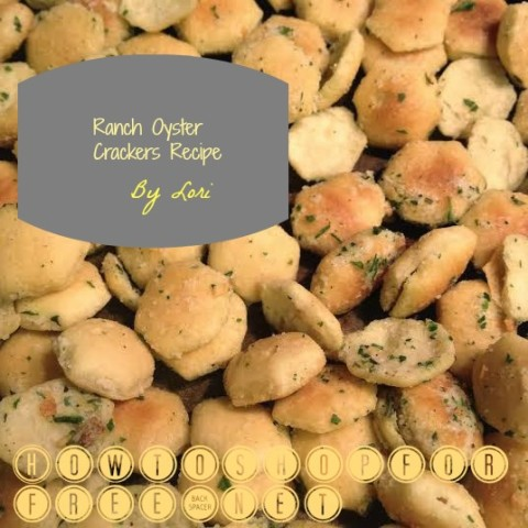 ranch oyster cracker