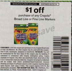 picture regarding Crayola Coupons Printable identify Crayola Coupon Giveaway How in the direction of Store For No cost with Kathy