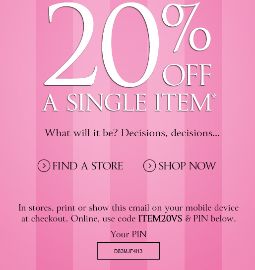 2015 Victoria Secret Coupons