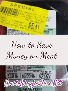 How to Save on Meat : Manager Meat Markdowns