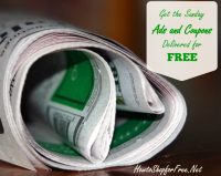 Get the Sunday Sale Ads and Coupons Delivered for FREE