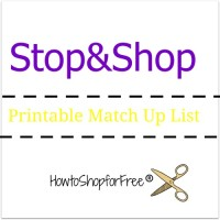 Stop & Shop Coupon Match Ups – Oct 20 – Oct 26