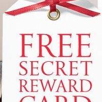 FREE Victoria's  Secret Reward Card No Purchase Necessary
