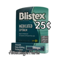 Blistex 25¢