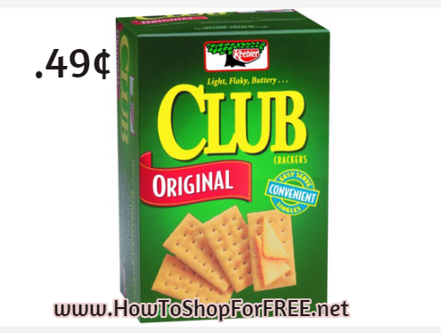 keebler club cracker .49
