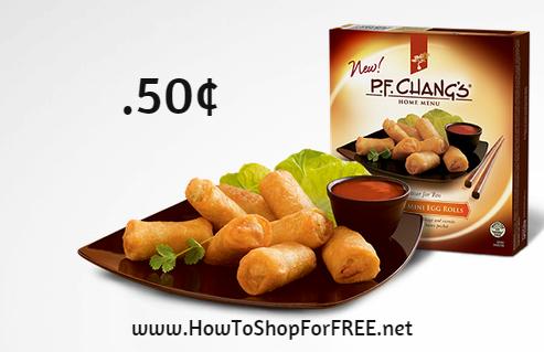 p.f. chang appetizer .50