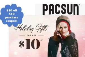 PacSun $10.00 Off $10.00