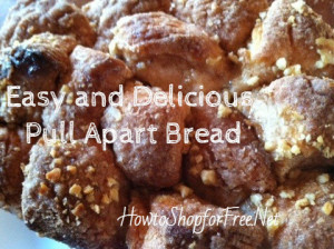 Easy Breakfast Recipe   ~Pull Apart Bread