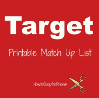 Target Coupon Match Ups – Oct 22 – Oct 28