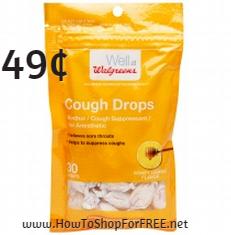 walgreens cough drop .49