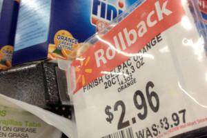 .81 Finish Dishwasher Detergent At Walmart
