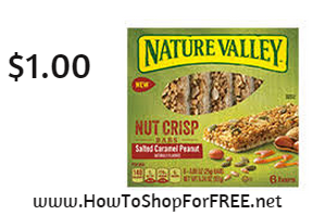 Nature valley nut$1