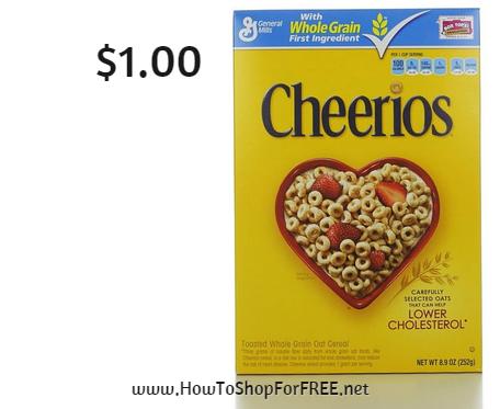cheerios $1