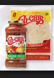 chi-chi salsa and tort--