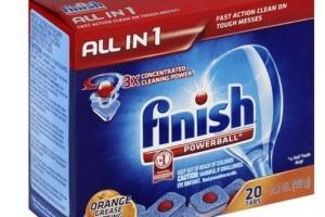 Finish Dishwasher Tabs 51¢