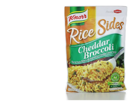 knorr rice sides--