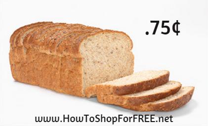 kroger bread .75