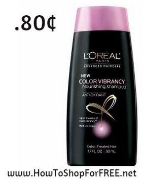 loreal advance shampoo.80