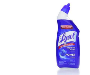 lysol toilet bowl cleaner--