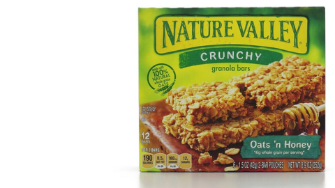 nature valley granola bars--