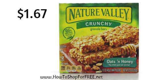 nature valley$1.67