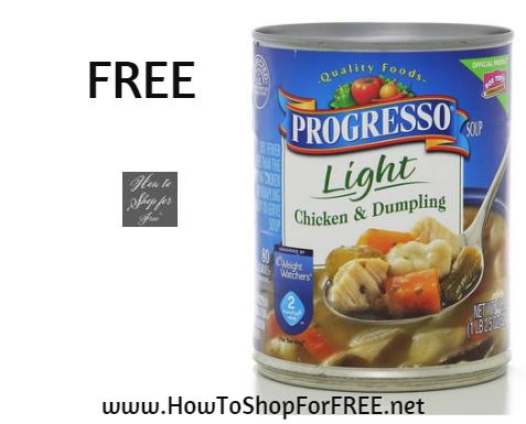 progresso soup free