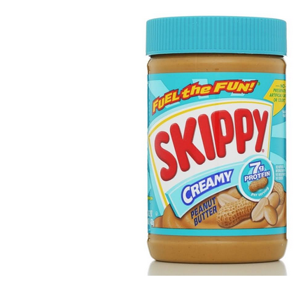 skippy peanut butter--