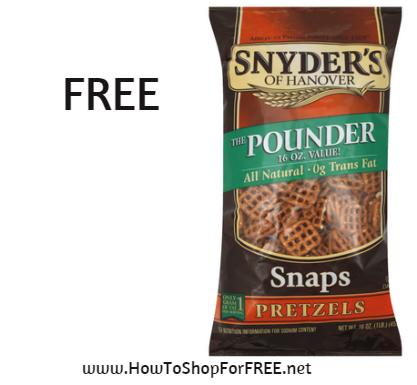 snyders pretz FREE