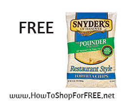 snyders tort chips FREE