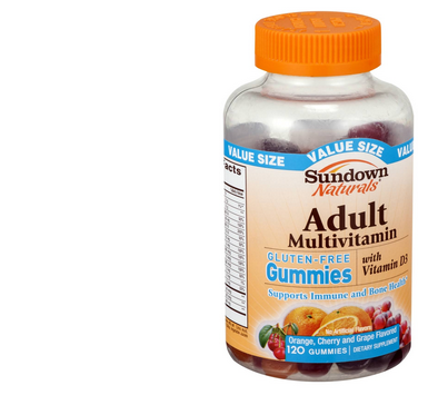 sundown natural gummies