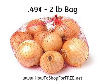 2 pound bag yellow - .49