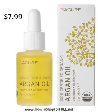 Acure argon oil $7.99