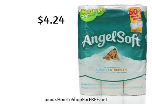 Angel soft 12 pk 4.24