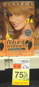 Clairol. Natural Instincts clearance