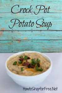 Crock Pot Potato Soup Recipe