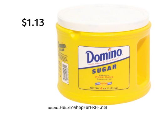 Domino sugar 4 lb - 1.13