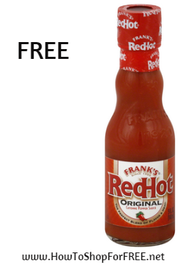 Franks red hot FREE