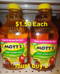 Mott's Apple Juice mb2