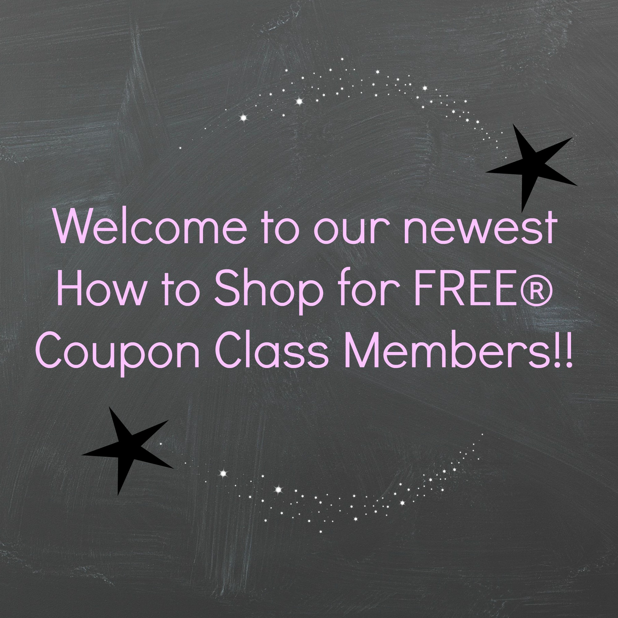 Welcome class members