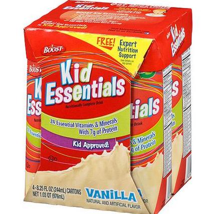 boost kids shake 4pk