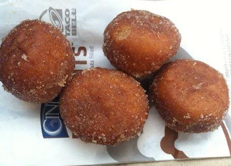 FREE Cinnabon Delights at Taco Bell