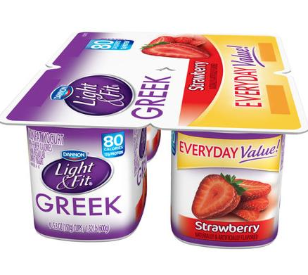 dannon fit & light 4pk everyday value--