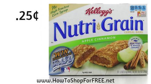 kellogg's nutri grain.25