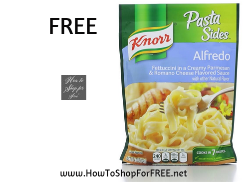 knorr pasta side FREE