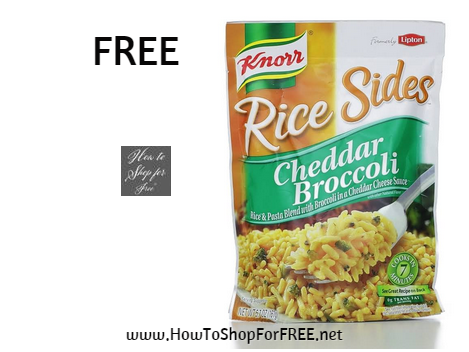 knorr rice sides FREE