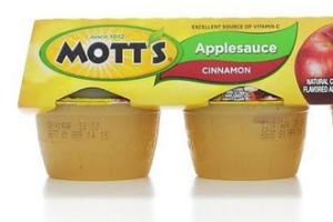 Mott's Applesauce for the lunchbox!