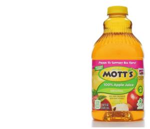 motts apple juice 64oz--