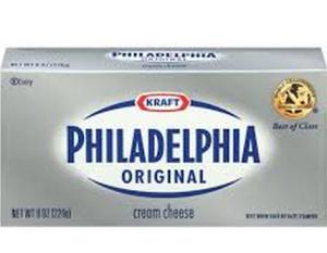 phildelphia cream cheese-