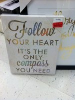 Valentine Themed Pictures $4.00 – $6.00 at Marshalls